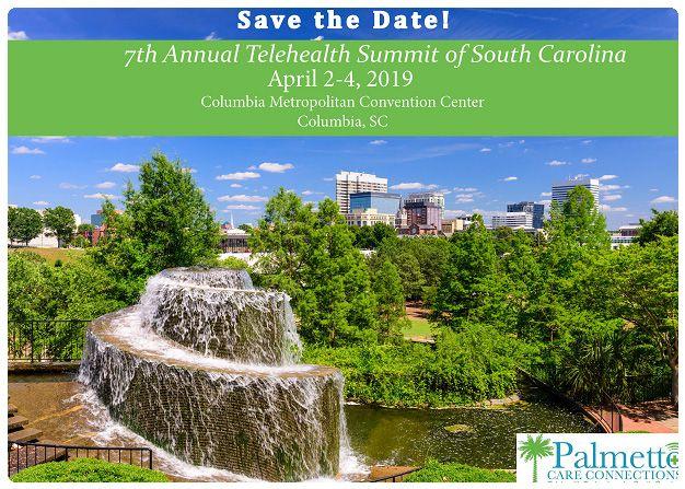 2019 annual telehealth summit of South Carolina invitation