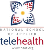 national school of applied telehealth logo